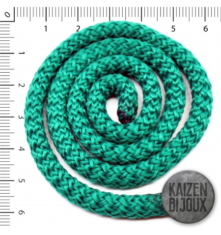 Soga verde Benetton 7mm Polipropileno