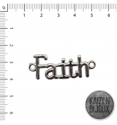 Dije pulsera Faith